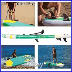 Inflatable SUP Stand Up Paddle Board Surf Kayak Hydro Force Paddleboard 11 ft