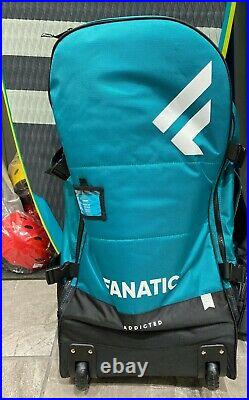 Inflatable SUP package Fanatic Fly Air Premium, 9' 8x32, with RED 3 Pc Paddle