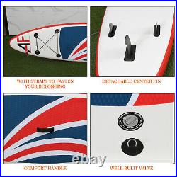 Inflatable Stand Up Paddle Board 10FT Paddleboard SUP Surfing Surf Pump Kayak