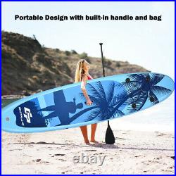 Inflatable Stand Up Paddle Board 11FT Standing SUP Surfing Boat Set withCarry Bag