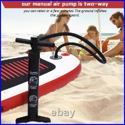 Inflatable Stand Up Paddle Board 11ft SUP Surfboard Adjustable Non-Slip Deck Set