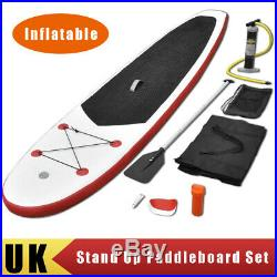 Inflatable Stand Up Paddle Board Paddleboard SUP Surfboard Surf Wave Rider Set