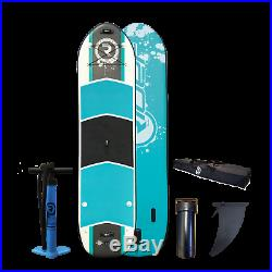 Inflatable Stand Up Paddle Board SUP with Two Paddles Riber