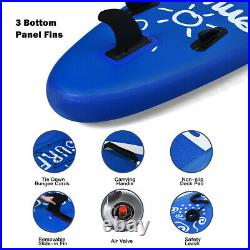 Inflatable Stand Up Paddle Board Standing Boat withCarry Bag for Kids & Adults