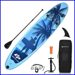 Inflatable Stand Up Paddle Board Standing Boat withCarry Bag for Youth and Adult