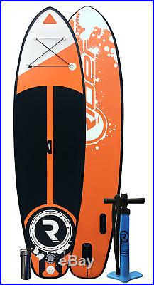 Inflatable Stand Up Paddle Board iSUP + Accesories 9.5ft Orange Riber