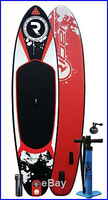 Inflatable Stand Up Paddle Board iSUP + Accessories 11ft Red Riber