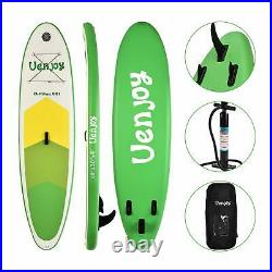 Inflatable Sup 11'30x6 All Around Paddle Board, WithFull Accessories, Green