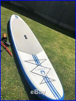Inflatable stand up paddle board used