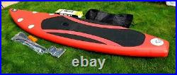 Inflatable sup stand up touring paddle board 10.6 ft