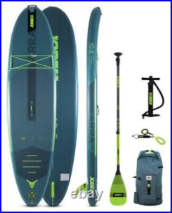 Jobe Yarra 10.6 Aero Inflatable Paddle Board SUP Package 2021 Teal 3 yr warranty