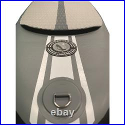 KRAKEN All Rounder 10'6 (Grey) Inflatable Stand Up Paddle Board SUP