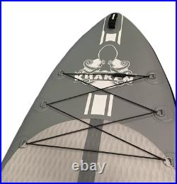 KRAKEN Touring 11' (Grey) Inflatable Stand Up Paddle Board SUP