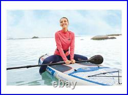 Mistral Inflatable Stand-Up Paddle Board SUP Complete Set-Up + Kayak Kit