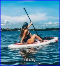 NEW 10ft 6 Funwater Inflatable SUP Stand Up Paddle Board Package