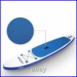 NEW Inflatable Stand Up Paddle SUP Board Surfing surf Board paddleboard 320cm UK