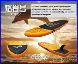 NEW Inflatable surfboard stand up paddle board AQUA MARINA WATER SPORT FUSION