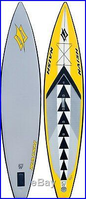 Naish One Air Inflatable Stand Up Paddle Board 12'6 Complete with Paddle