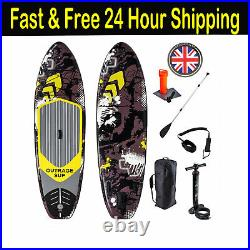 New 2021 Outrage Paddle Board Vortex Premium SUP 10' 6 Double Layer Inflatable