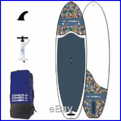 O'Neill Sup Flowers 10' 6 Board Stand Up Paddle Surf-Board Inflatable