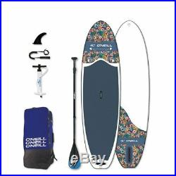 O'neill Sup Flowers 10' 6 Sup Board Stand up Paddle Surf-Board Inflatable