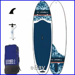 O'neill Sup Navy 10' 6 Board Stand up Paddle Surf-Board Inflatable Is