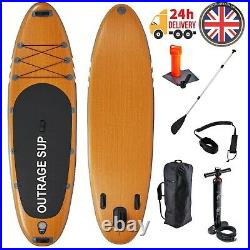 Outrage Cascade ISUP 10' 6 Inflatable SUP Stand Up Paddle Board Kit Package Set