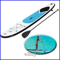 Paddle Board 10ft Blue Sports Surf Inflatable Stand Up Water Racing SUP Bag Pump