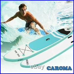 Paddle Board Inflatable Stand Up SUP Surfboard Surfing Paddleboard Kayak 305cm