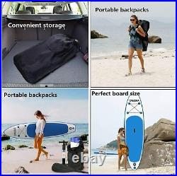 Paddle Board Inflatable Stand Up SUP Surfboard Surfing Paddleboard Kayak 320cm