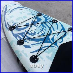Paddle Board Inflatable Sup 10'6 Stand Up Paddle Board with Accessories