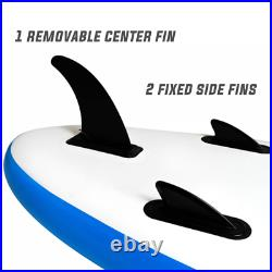 Paddle Board SUP 10ft Inflatable Sports Surf Stand Up Racing Bag Pump Oar Water