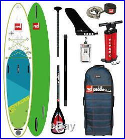 Red Paddle 12'6 Voyager Inflatable Stand Up Paddle Board 2019