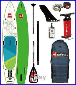 Red Paddle 13'2 Voyager Inflatable Sup Package 2019