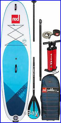Red Paddle Co 10'6 Ride MSL Inflatable SUP 2020 Package