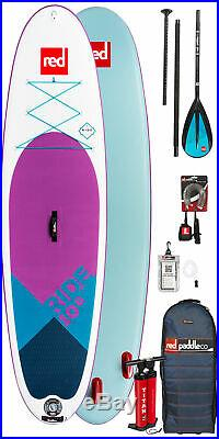 Red Paddle Co 10'6 Ride SE Inflatable SUP 2019 Package