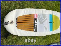 Red Paddle Co 10'8 Mega inflatable stand up paddle board with paddle, pump, bag