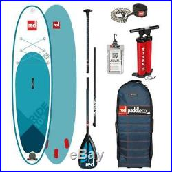Red Paddle Co 10'8 Ride 2019 MSL Inflatable SUP Stand Up Paddle Board Package