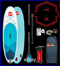 Red Paddle Co 10'8 Ride Inflatable SUP Stand Up Paddle Board 2019 Package