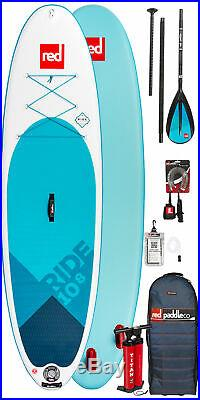 Red Paddle Co 10ft 8 Ride Msl Inflatable Sup 2020 Package