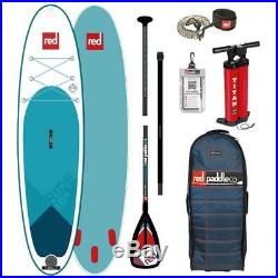 Red Paddle Co 9.8 Ride Inflatable SUP Stand Up Paddle Board 2019 Package