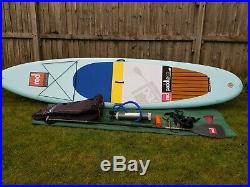 Red Paddle Co Explorer 12'6 Inflatable Stand Up Paddle Board package