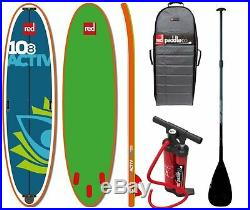 Red Paddle Set 10.8' ACTIV SUP inflatable Stand Up Paddle Surfboard Board mit Pa
