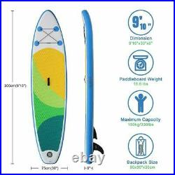 SUDOO 300cm Surfboard SUP Board Stand Up Paddle Inflatable Paddling Paddleboard