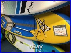 SUP Inflatable 106 O'Shea (with paddle, repair kit, bag, pump + buoynacy aid)
