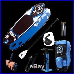 SUP Inflatable Stand Up Paddle Board 10.2ft ULTIMATE PACK Blue Riber