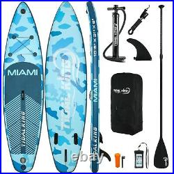 SUP Inflatable Stand Up Paddle Board with Kayak Seat Premium 10'6 & Accessories