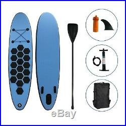 SUP Surf Board Inflatable 9' Stand up Paddle Board with 3 fins