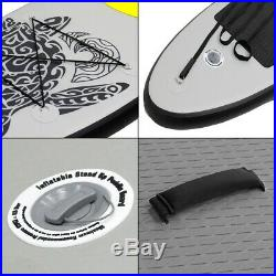 SUP stand up paddle board 10ft inflatable Maona surfing board paddleboard gray