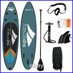 SUPremacy 2021 Swift Green Inflatable Stand Up Paddle Board 305x76x15 / 10ft